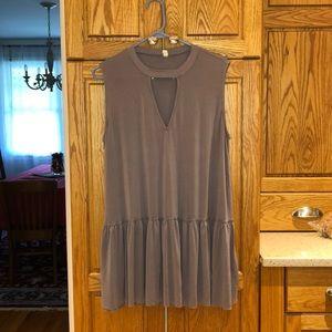 Plus size sleeveless tunic shirt